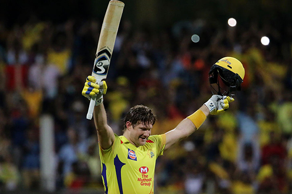 Shane Watson thanks Alan Jones hours after IPL final heroics