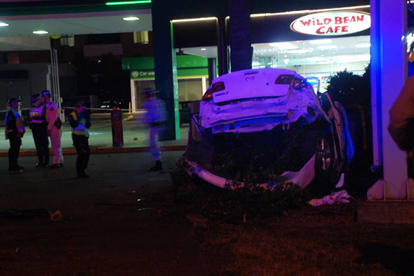 Article image for Teen killed in horror crash