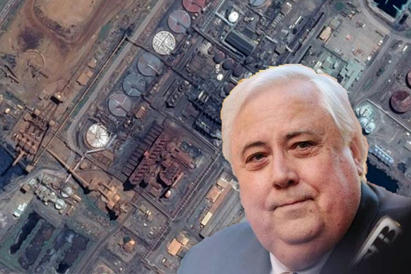 Former Queensland Nickel worker welcomes freezing of Clive Palmer's assets
