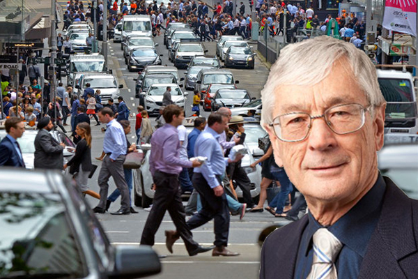 Article image for Dick Smith on population boom: Our children will live 'like termites, like battery chooks'