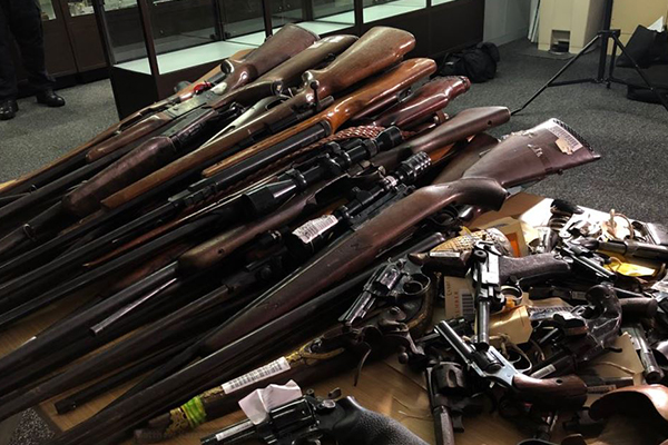 Article image for 1 gun for every 8 people in NSW