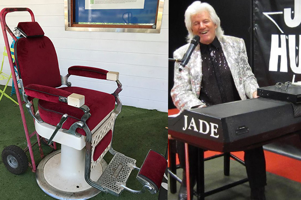 Article image for Rock n' Roll singer Jade Hurley is selling a famous piece of memorabilia