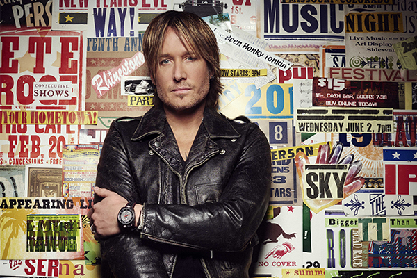 Article image for What's a normal week like for country music star Keith Urban?
