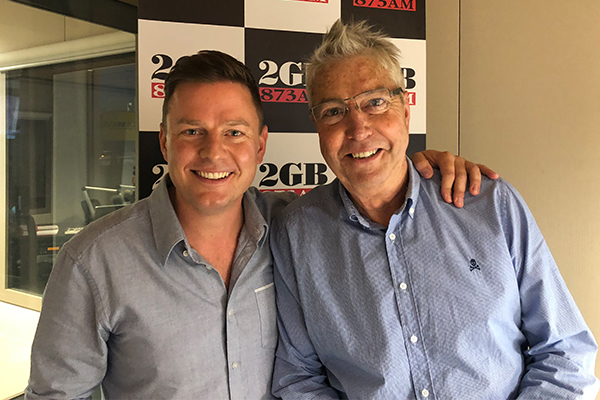 Article image for Radio royalty hits the 2GB airwaves