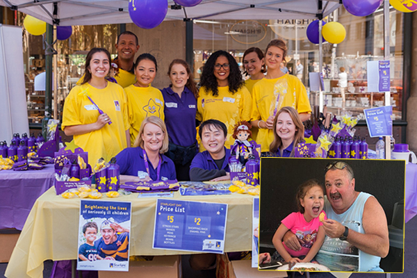 Starlight urging Aussies to 'dig deep' to support sick kids