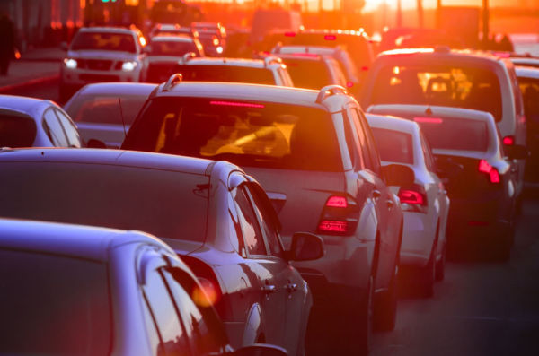 Article image for Peak hour conditions plague some of Sydney's major roads all day
