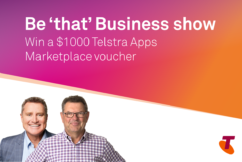 $1000 Telstra Apps Marketplace voucher