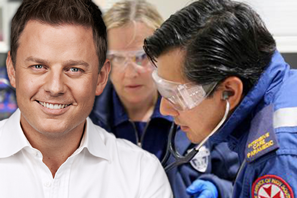Article image for Premier announces boost to paramedic numbers, thanks Ben Fordham for 'vigilant' campaign