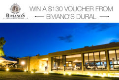 Win a $130 voucher from Biviano's Dural