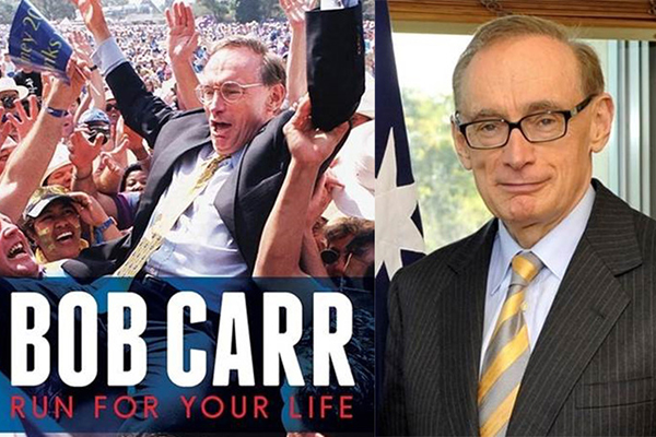 Alan Jones confronts Bob Carr over 'nefarious' sledge in his new book