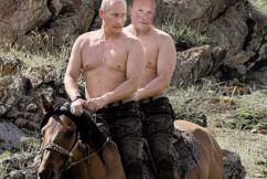 "The Telegraph's Phil ""Buzz"" Rothfield with his mate Vlad, ahead of his trip to the 2018 FIFA World Cup in Russia."