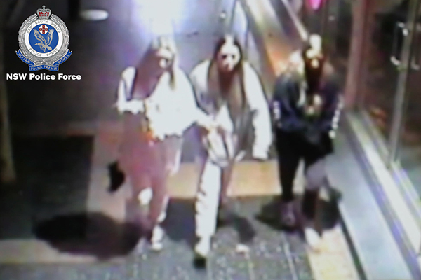 WATCH: Police search for three females following suspicious school fire