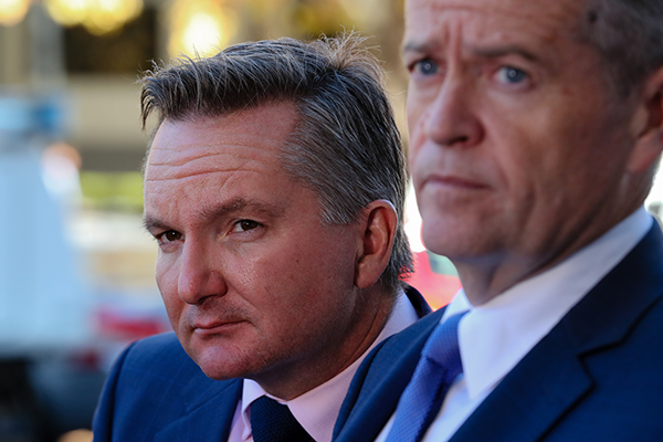 Article image for Shadow Treasurer continues push on gender-based tax rates