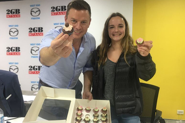 Cupcake Charlotte could be The Continuous Call Team's resident baker