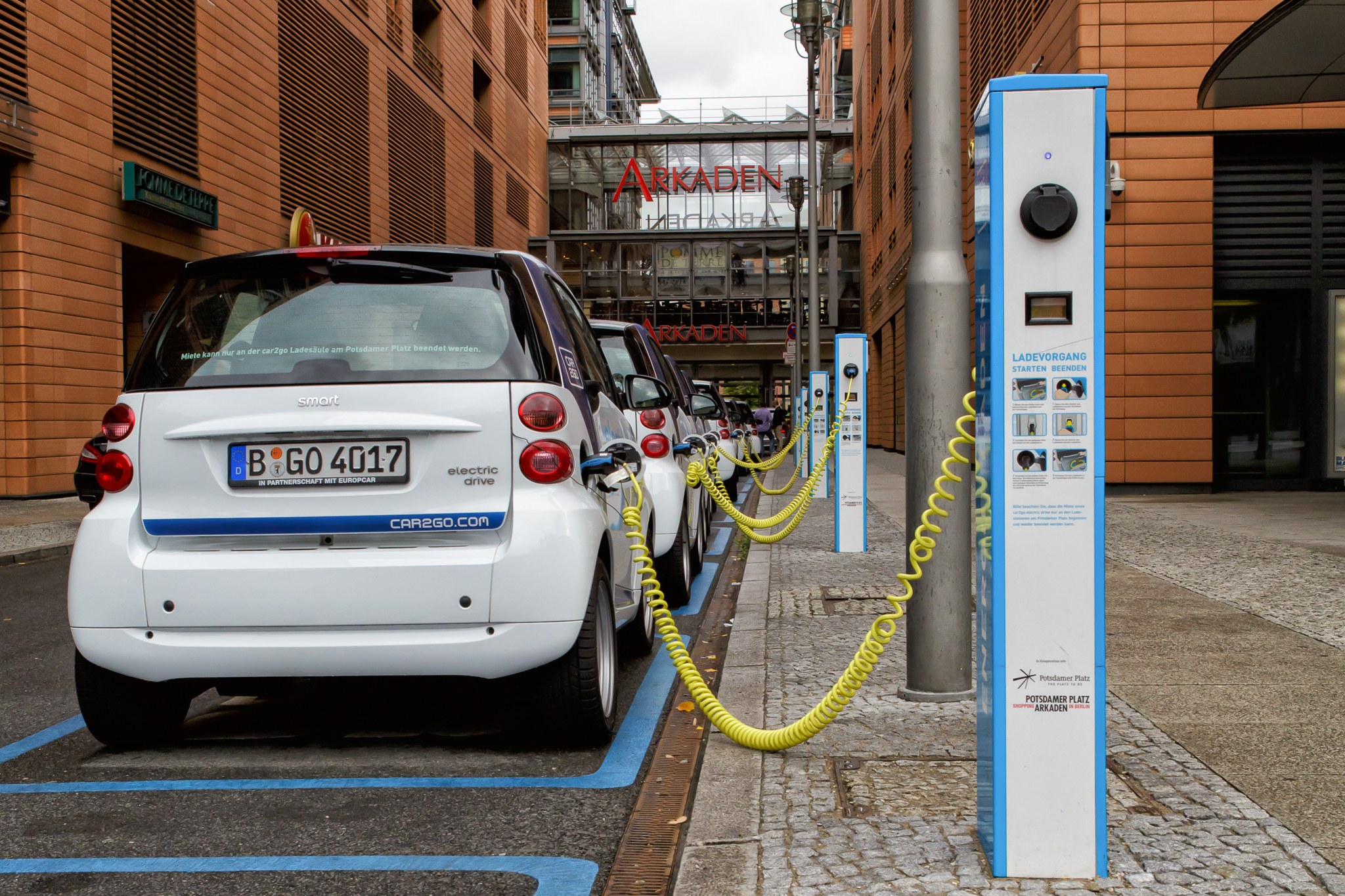 Electric car charging - 3
