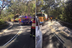 UPDATE   Truckie fined over Galston Gorge chaos