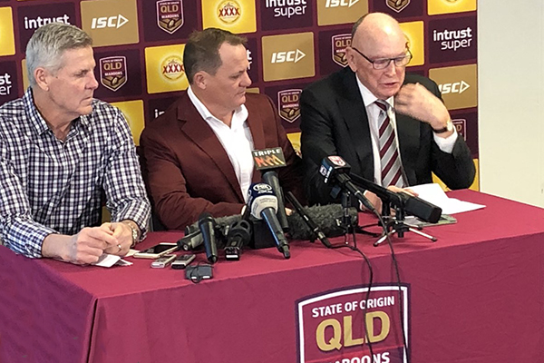 Article image for Maroons squad named for Origin Game II