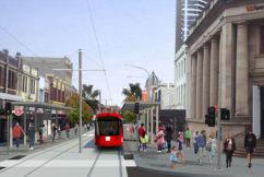 Parramatta businesses terrified about impending light rail contruction