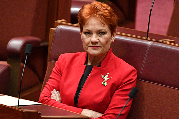 Article image for 'They're bullies!', One Nation leader is pulling no punches