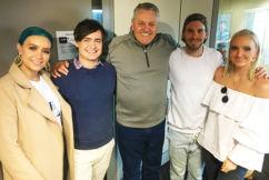 Aussie band Sheppard perform live in studio
