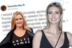 Comedian slammed for foul attack on Donald Trump's daughter
