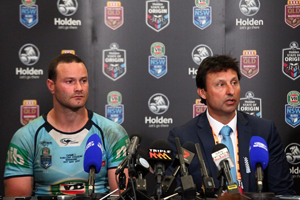 'Pity it didn't happen over the last couple of years': Laurie Daley previews Origin I