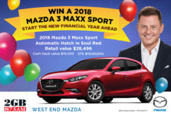 Start The New Financial Year a Winner, at West End Mazda