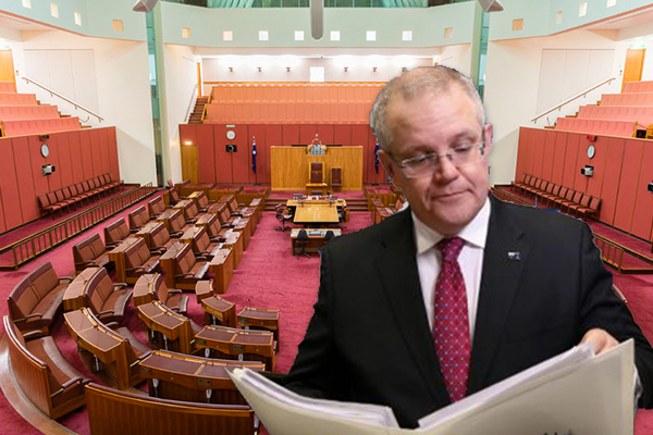 Article image for Treasurer Scott Morrison wants 37% tax bracket abolished sooner, as income package passes parliament