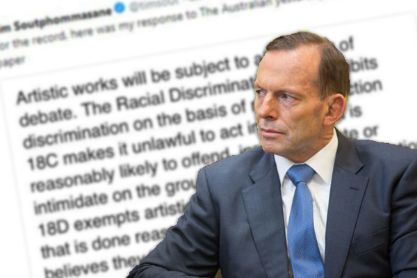 Tony Abbott: 'It's only left-wingers whose rights are protected'