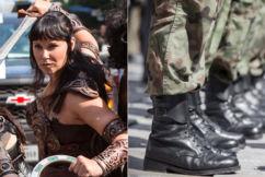 'Peak insanity': Army urged to embrace Xena the Warrior Princess