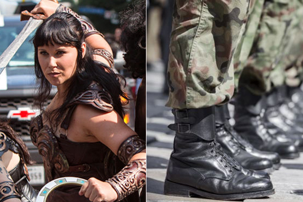 Article image for 'Peak insanity': Army urged to embrace Xena the Warrior Princess