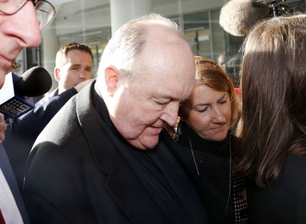 Article image for 'We get life, he gets home detention': Victims slam sentence for Archbishop who protected paedophile priest