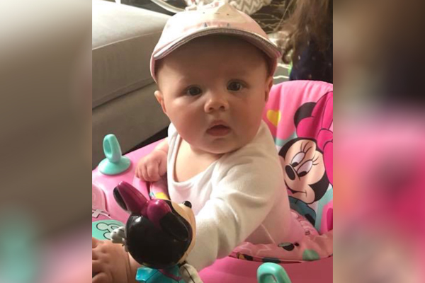Ava in her new hat