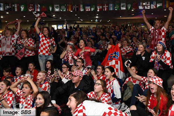 Croatians still partying across Australia