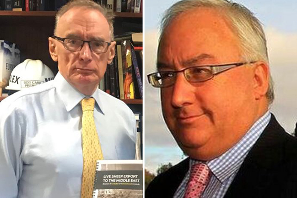 Article image for Michael Danby hammers 'scandalous' Bob Carr on his devotion to China