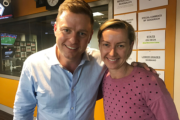 Article image for 'The listeners at 2GB are so fabulous', Deb Knight chats with Ben Fordham