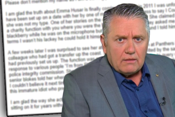 Embattled Labor MP Emma Husar caught spreading lies about Ray Hadley