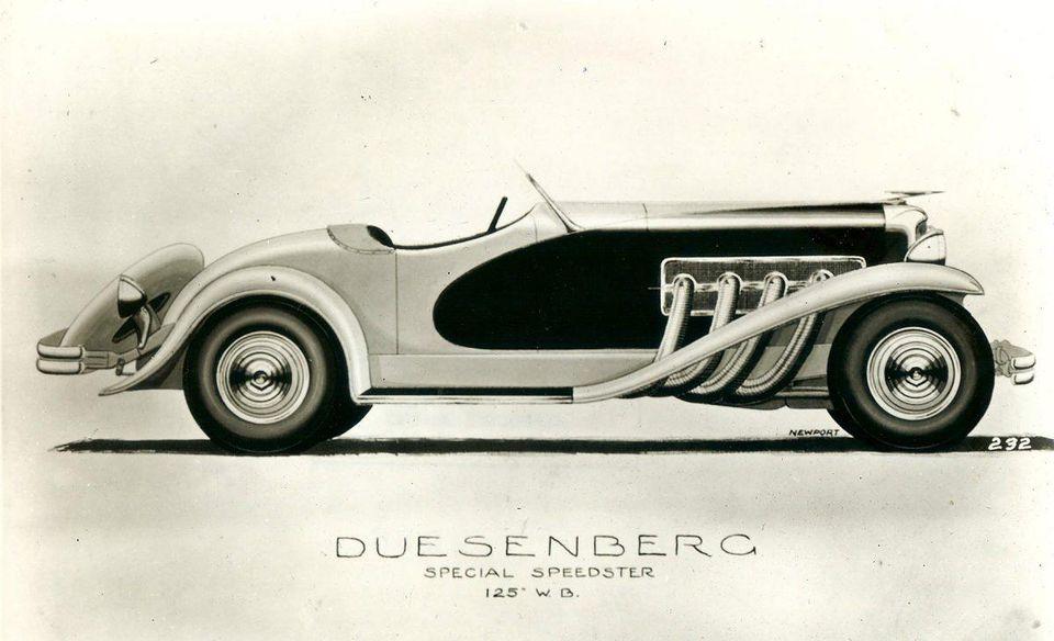 Gary Cooper's Duesenberg - 3