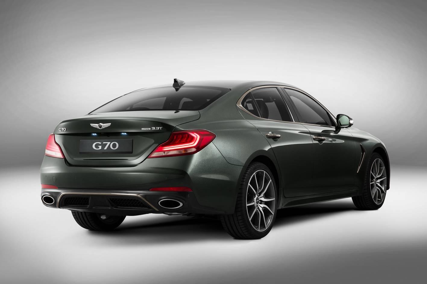 new Genesis G70 due November.