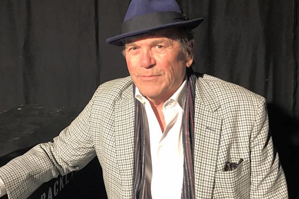 Glenn Shorrock got his taste of the spotlight miming to Elvis