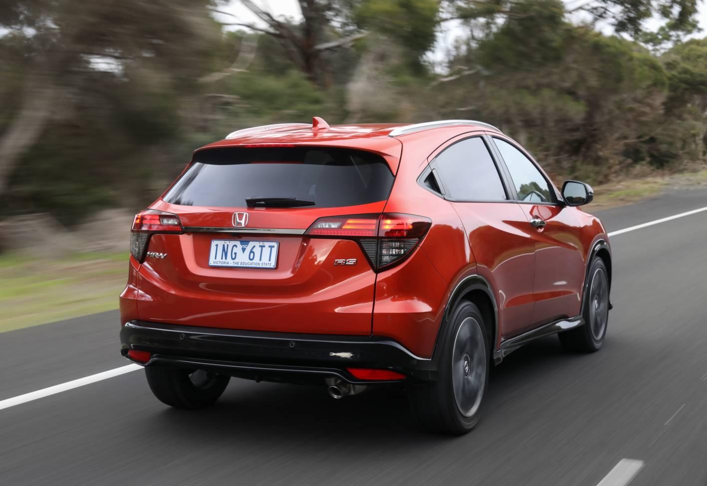 Honda HR-V update August 2018 - 2