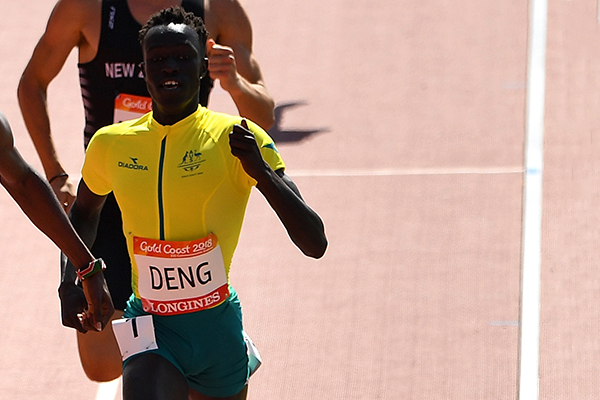 Australia's inspiring new athletics star
