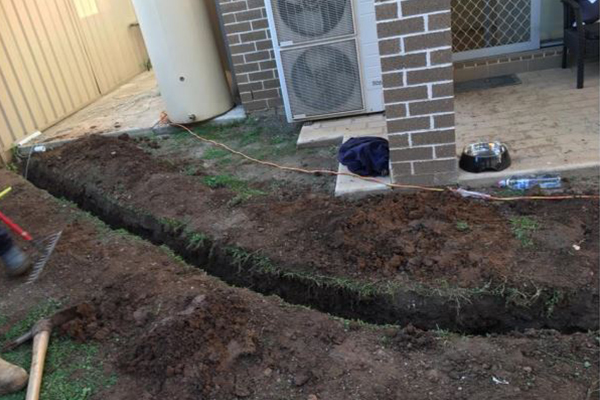 NBN horror story: Woman's home left 'a dirt pit'