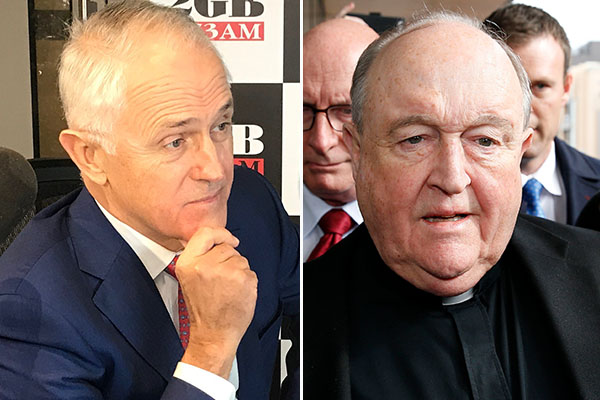 Article image for Turnbull calls on Pope to sack disgraced Archbishop Wilson over paedophile cover-up