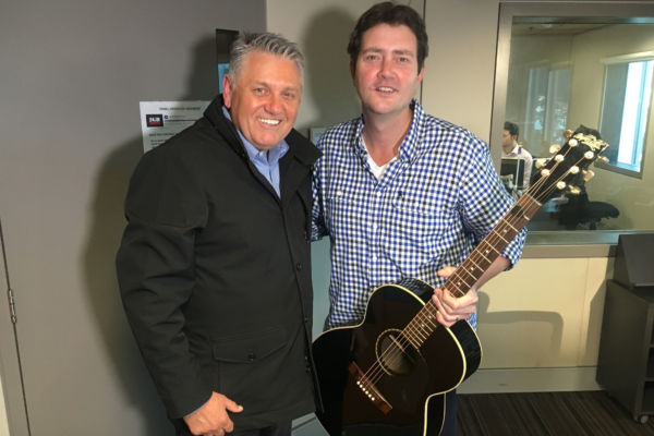 Article image for Ray's great mate Adam Harvey drops by for a chat and to perform