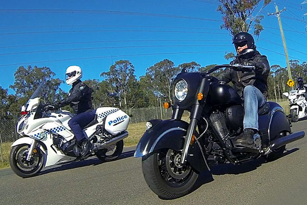 Article image for Ride for Justice: Police escorted motorcycle ride to support victims of homicide trauma