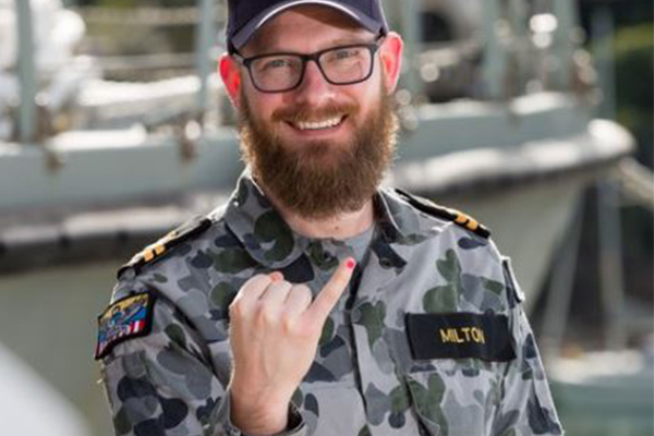 'The uniform needs to be above politics': Australian navy slammed over pink nail polish