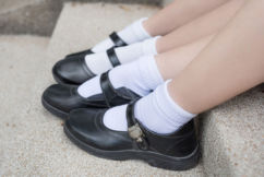 Girls in school uniforms, as young as 12, being targeted by men