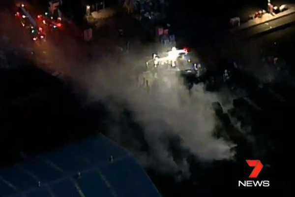 Article image for Gas explosion severely injures two in Sydney's west