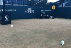 The Open's subtle tribute to an Australian golfing legend